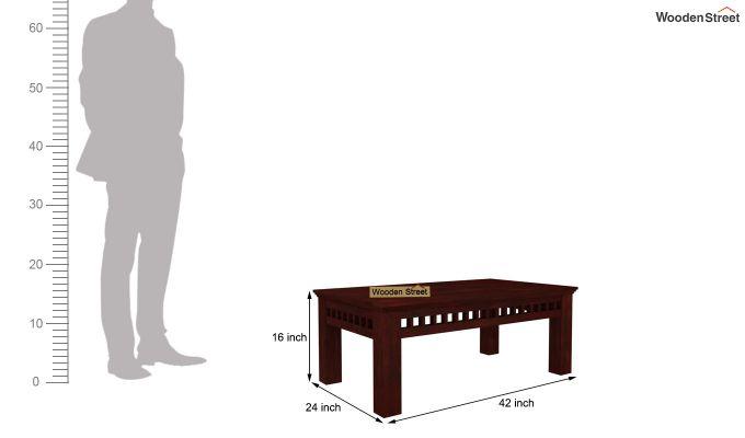 Adolph Coffee Table (Mahogany Finish)-5