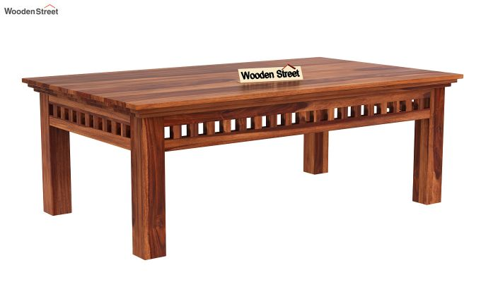 Adolph Coffee Table (Honey Finish)-3
