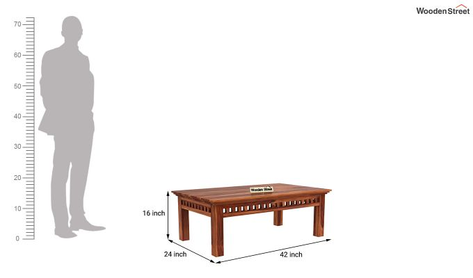 Adolph Coffee Table (Honey Finish)-5
