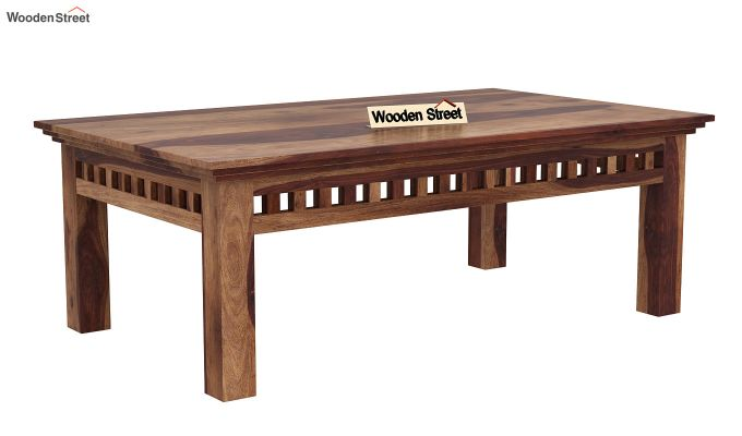 Adolph Coffee Table (Teak Finish)-3