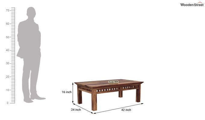 Adolph Coffee Table (Teak Finish)-5
