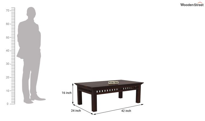 Adolph Coffee Table (Walnut Finish)-5