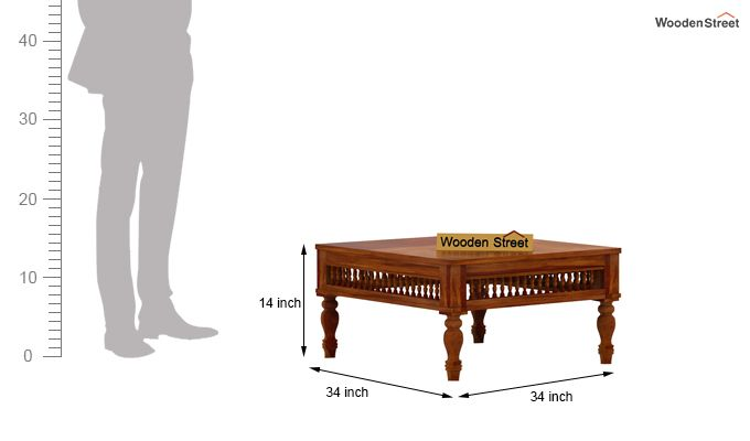 Alanis Coffee Table (Honey Finish)-5