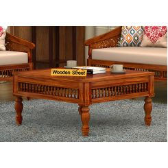 Alanis Coffee Table (Honey Finish)