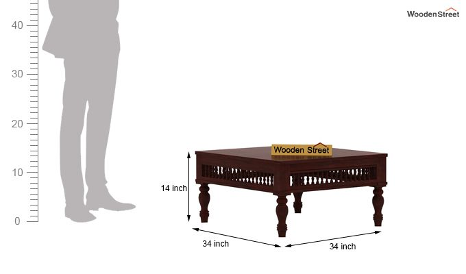 Alanis Coffee Table (Mahogany Finish)-4
