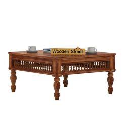 Alanis Coffee Table (Teak Finish)