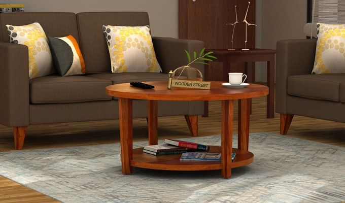 Aloha Coffee Table (Honey Finish)-1