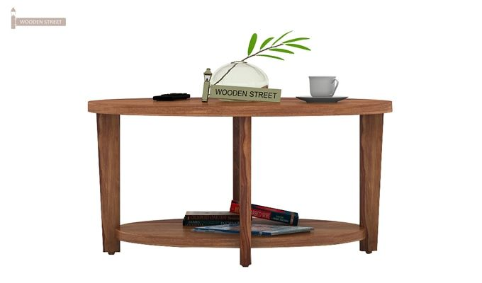 Aloha Coffee Table (Teak Finish)-2