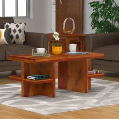 Amanda Centre Table (Honey Finish)