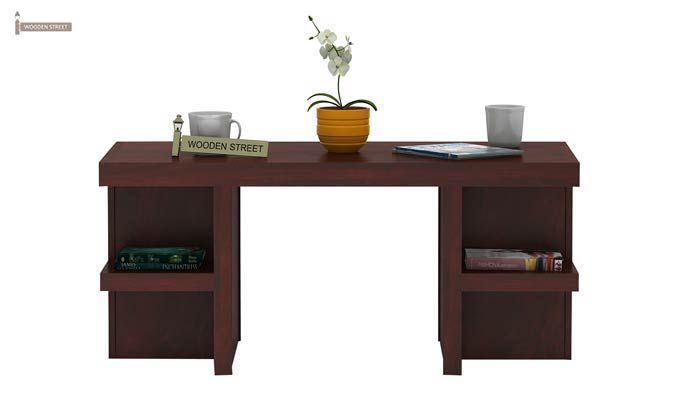 Amanda Centre Table (Mahogany Finish)-2
