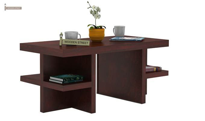 Amanda Centre Table (Mahogany Finish)-1