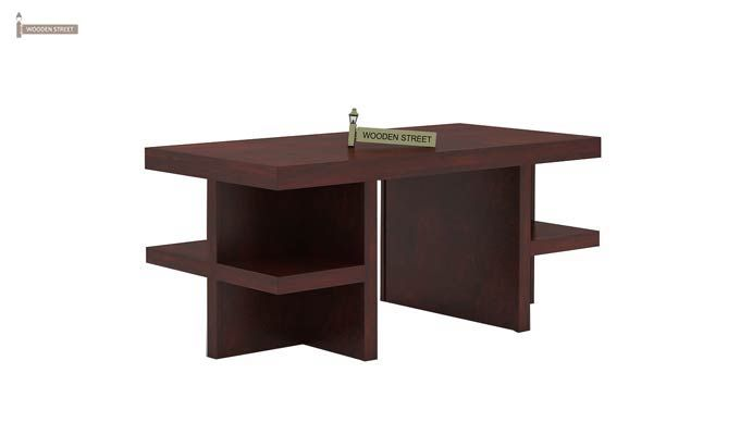 Amanda Centre Table (Mahogany Finish)-4