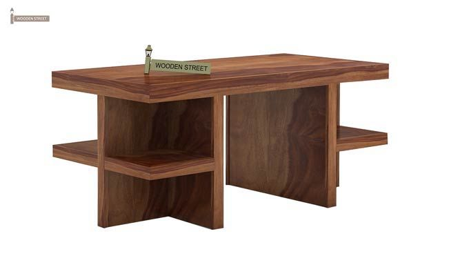 Amanda Centre Table (Teak Finish)-4