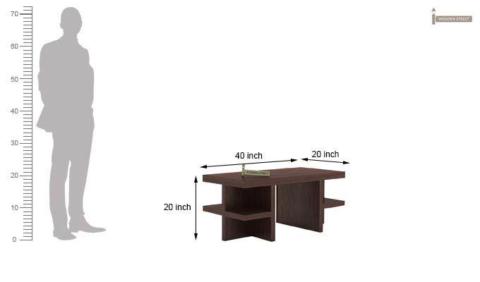 Amanda Centre Table (Walnut Finish)-5
