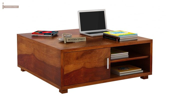 Andy Coffee Table (Honey Finish)-1