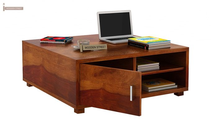 Andy Coffee Table (Honey Finish)-2