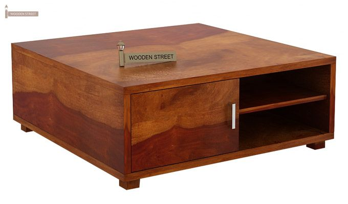 Andy Coffee Table (Honey Finish)-5