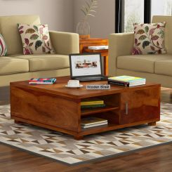 Andy Coffee Table (Honey Finish)
