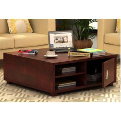 Andy Coffee Table (Mahogany Finish)