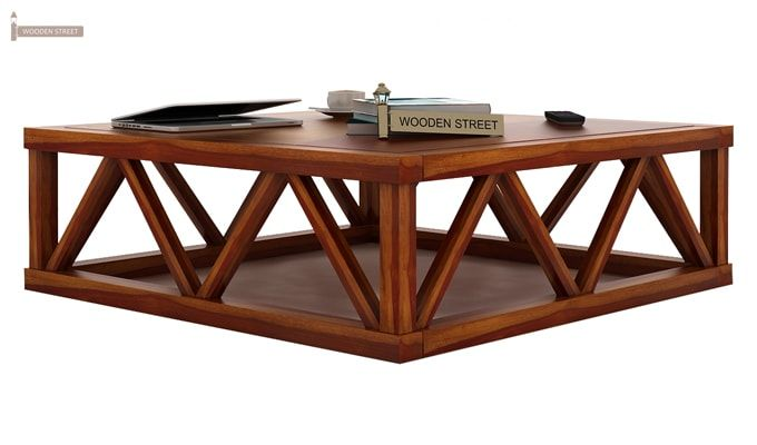 Anne Coffee Table (Honey Finish)-1