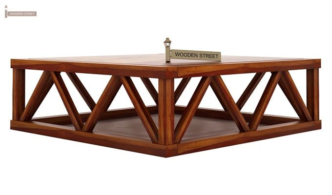 Anne Coffee Table (Honey Finish)-4