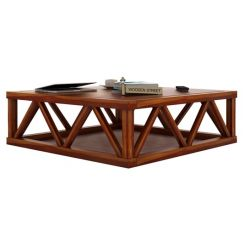 Anne Coffee Table (Honey Finish)
