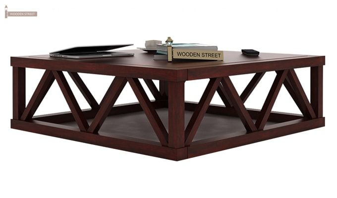 Anne Coffee Table (Mahogany Finish)-2