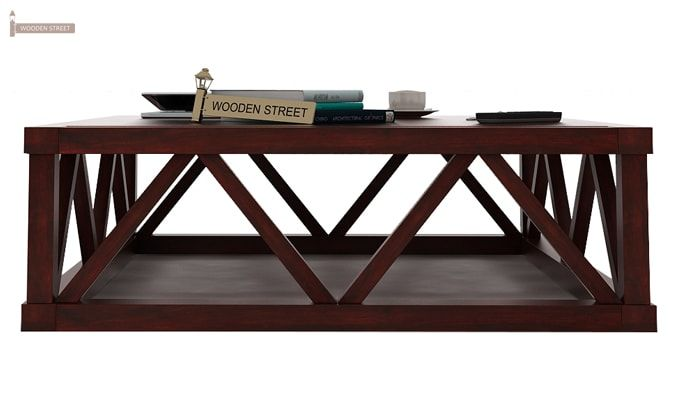 Anne Coffee Table (Mahogany Finish)-3