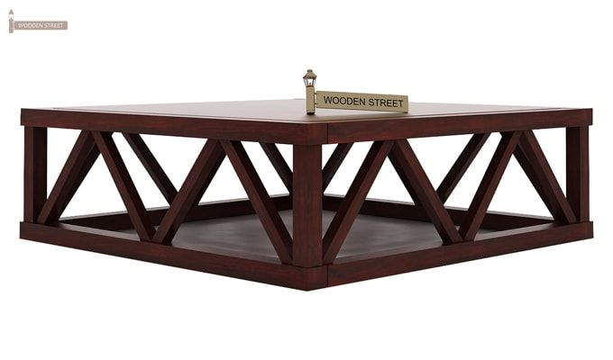 Anne Coffee Table (Mahogany Finish)-5