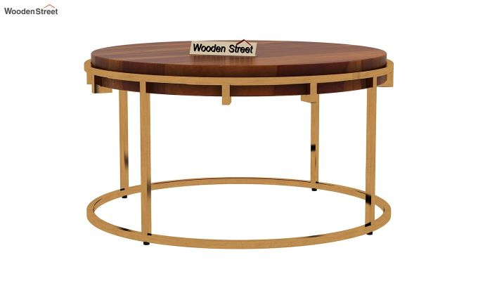 Aristo Coffee Table (Honey Finish)-4