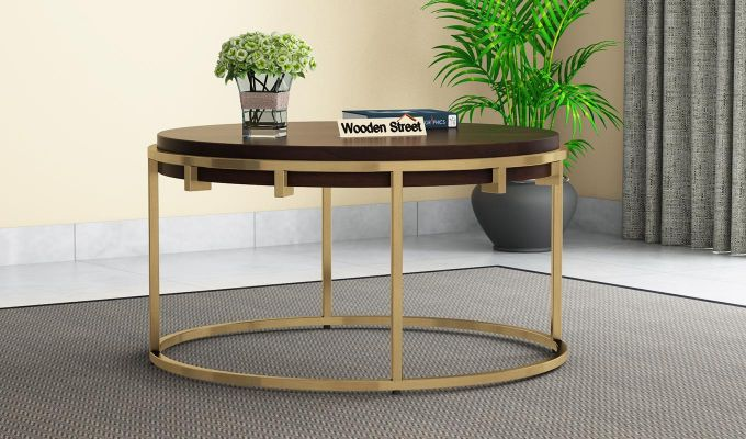Aristo Coffee Table (Walnut Finish)-2