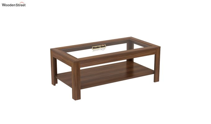 Arno Coffee Table (Exotic Teak Finish)-2