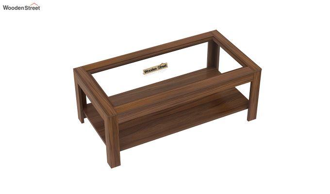 Arno Coffee Table (Exotic Teak Finish)-4