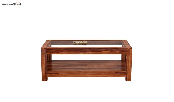 Arno Coffee Table (Honey Finish)-3