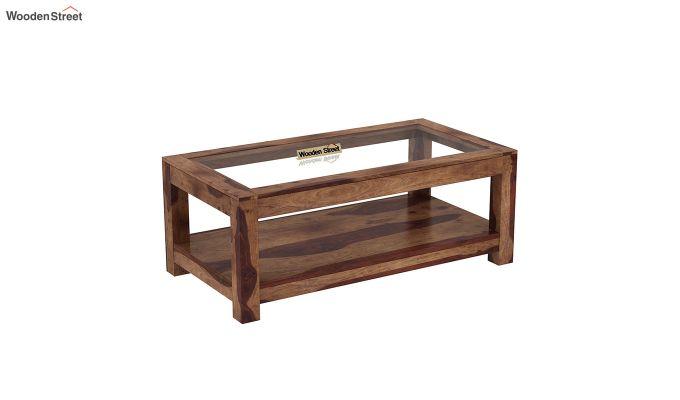 Arno Coffee Table (Teak Finish)-2
