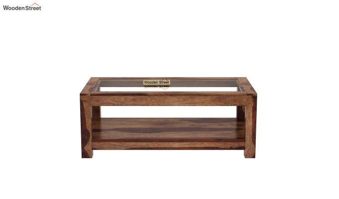 Arno Coffee Table (Teak Finish)-3