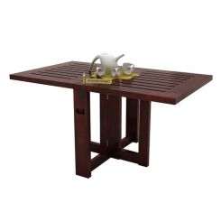 Astin Center Table (Mahogany Finish)