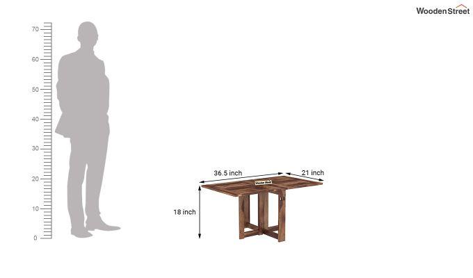 Astin Center Table (Teak Finish)-8