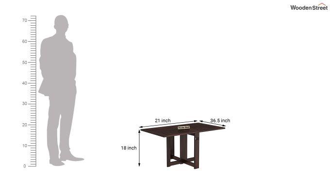 Astin Center Table (Walnut Finish)-8