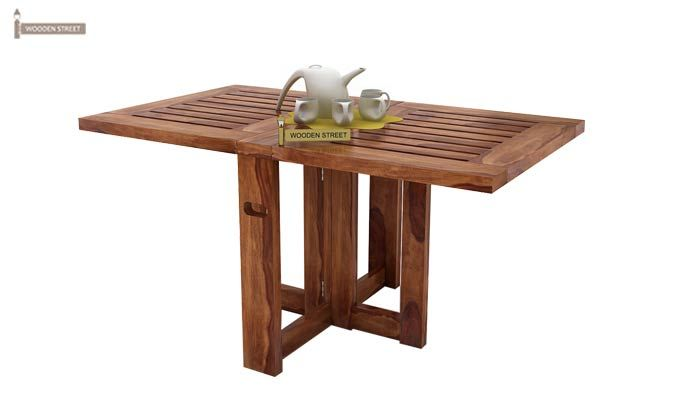Astin Center Table (Teak Finish)-1