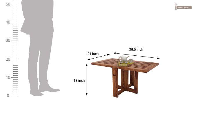 Astin Center Table (Teak Finish)-7