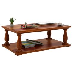 Barnett Center Table (Honey Finish)