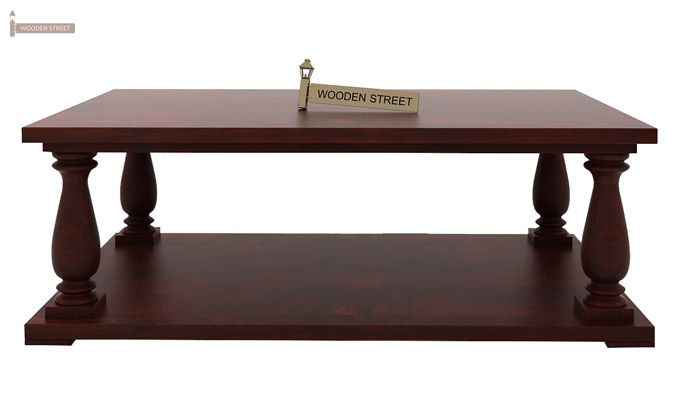 Barnett Center Table (Mahogany Finish)-3