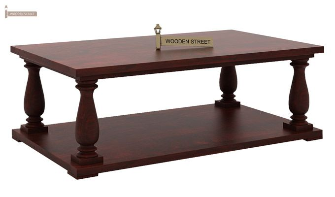 Barnett Center Table (Mahogany Finish)-4
