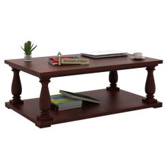 Barnett Center Table (Mahogany Finish)