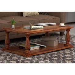 Barnett Center Table (Teak Finish)