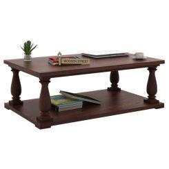 Barnett Center Table (Walnut Finish)