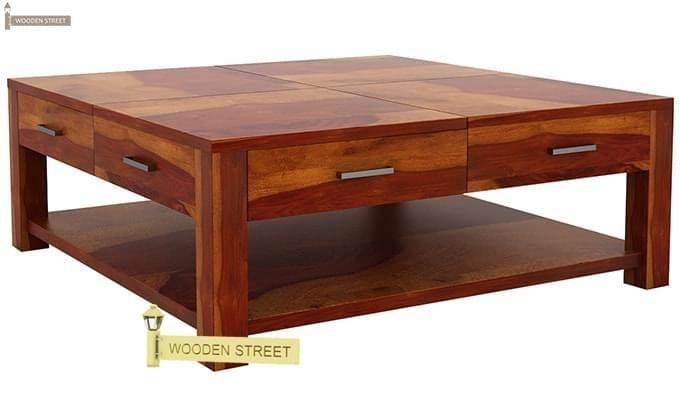 Borstein Coffee Table (Honey Finish)-4