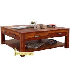 Borstein Coffee Table (Honey Finish)