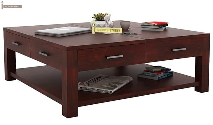 Borstein Coffee Table (Mahogany Finish)-1